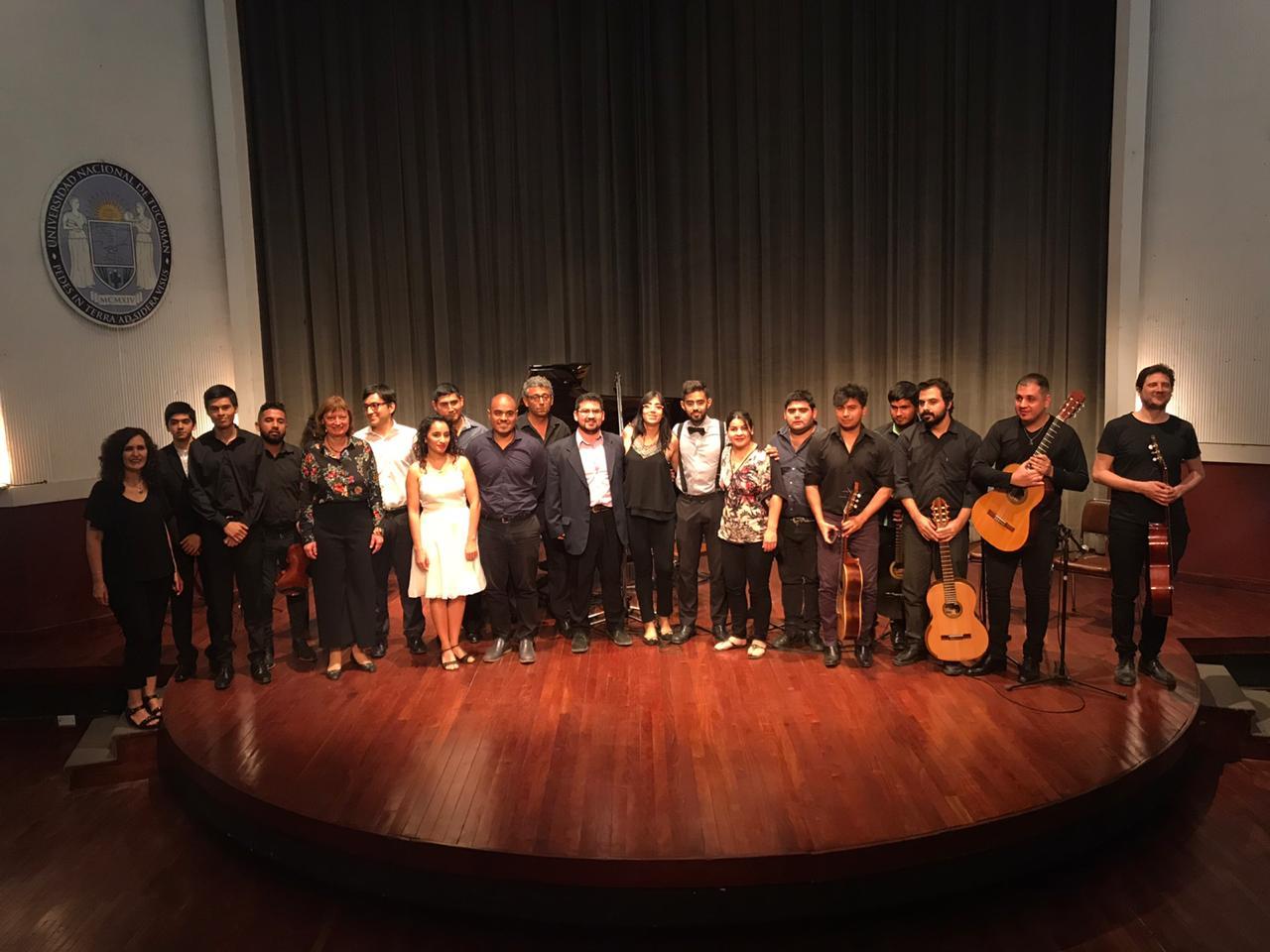 """Ciclo """"El Conservatorio en el Virla"""" - Recital de Música de Cámara y Piano - 1er. Concierto - Septiembre"""
