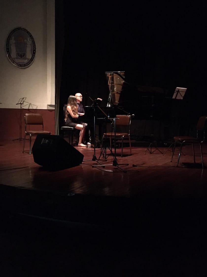 """Ciclo """"El Conservatorio en el Virla"""" - Recital de Música de Cámara y Piano - 2do. Concierto - Octubre"""