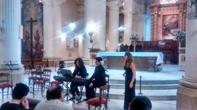 Seminario de interpretación de mùsica del barroco y clasicismo - Mtro. Juan F. La Moglie - Concierto - Catedral (30 de Agosto)