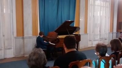 Recital de Piano FoBa y TAE - Foyer del Teatro San Martín - 15 de Noviembre