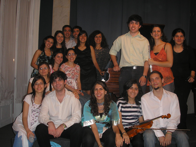 Recital Foyer del Teatro San Martín - Octubre 2010