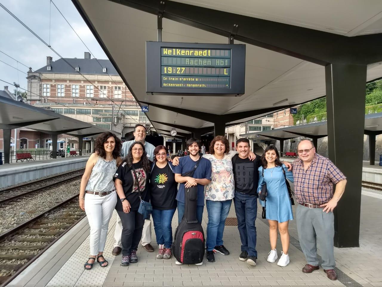 Camino a Aachen (Alemania)