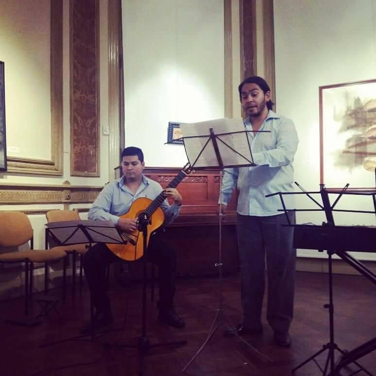 Recital de Cámara e Improvisación - Ctro. Cultural Rougès - Diciembre