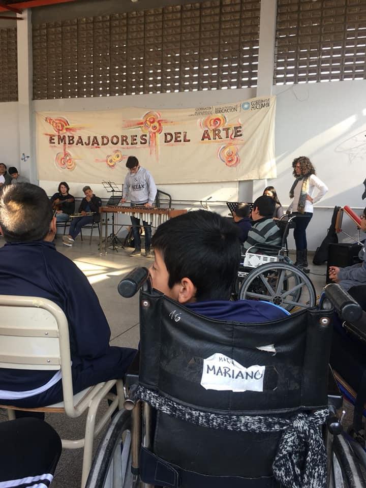 """""""Embajadores del Arte"""" . Escuela Especial ALPI"""