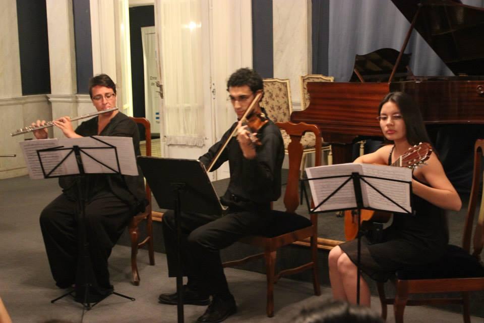 Recital de Música de Cámara - Foyer del Teatro San Martín - Octubre 2014